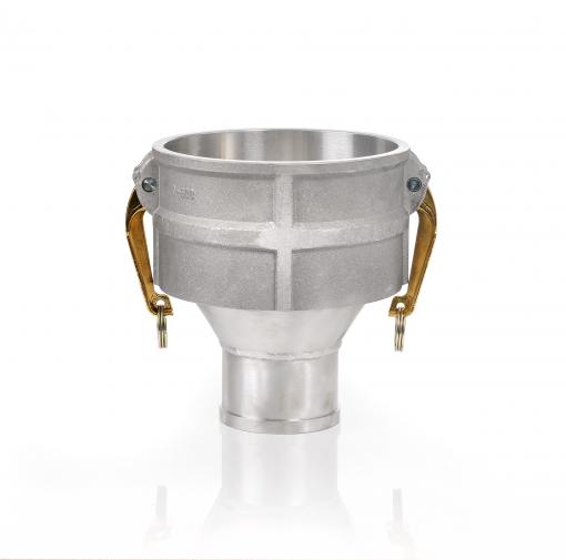 Inversionshuvud DN100 - Rak - Aluminium