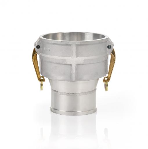 Inversionshuvud DN150 - Rak - Aluminium