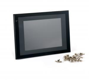 Touch screen for UV relinings systems control unit
